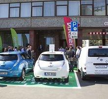 Elektromobilių vairuotojų Vilniuje laukia išskirtinės sąlygos