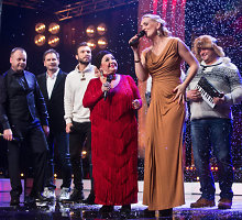 """""""Lietuvos talentuose"""" gerų Kalėdų linkėjo būrys drauge uždainavusių garsenybių"""