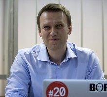 Rusijos prokurorai siūlo Kremliaus kritiką Aleksejų Navalną pasiųsti už grotų 10 metų
