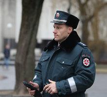 Policijos vadovas papasakojo, kaip buvo sulaikytas įtariamasis Jonavos žagintojas