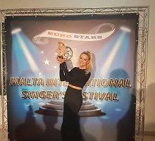 """Neringa Šiaudikytė dainų konkurse Maltoje laimėjo 1-ą vietą: """"Keliu sau aukštus reikalavimus"""""""