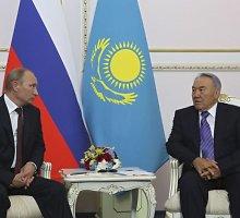 Nursultanas Nazarbajevas įspėja: Kazachstanas gali susilaukti Ukrainos likimo