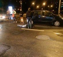 Nelaimė sostinės Savanorių prospekte: sprukęs iš parduotuvės jaunuolis pateko po ratais