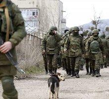 Rusijos specialios paskirties kariai Donbase dėvi uniformas, kurios juos paverčia nematomais