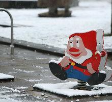 Lankytojų susidomėjimo nesulaukusios kalėdinės mugės prekeivis pasigedo nykštukų ir linksmybių