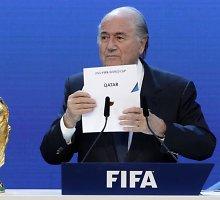 2022-ųjų vasarą pasaulio futbolo čempionatas Katare nevyks