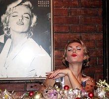 Eglės Jackaitės naujametinis Marilyn Monroe įvaizdis