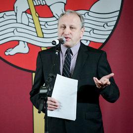 Šarūno Mažeikos/BFL nuotr./LRT tarybos pirmininkas Žygintas Pečiulis