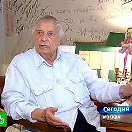 NTV kanalo kadras/Režisierius Jurijus Liubimovas