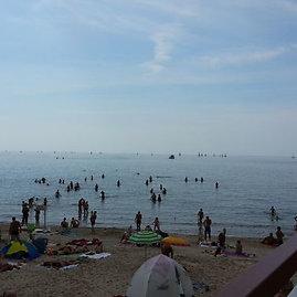 Skaitytojos Gabrielės nuotr./Palangos centrinis paplūdimys