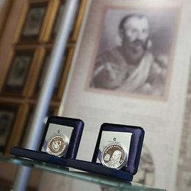 Juliaus Kalinsko/15min.lt nuotr./Mikalojui Radvilai Juodajam skirtų monetų pristatymas