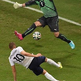 "AFP/""Scanpix"" nuotr./Karimo Benzema įvartis"