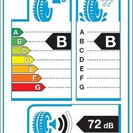 Naujoji etiketė, kuri bus klijuojama ant padangos