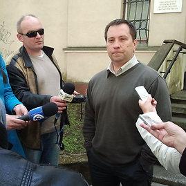 Lauros Sėlenienės nuotr./Klaipėdos apygardos prokuratūros Organizuotų nusikaltimų ir korupcijos tyrimo skyriaus (ONKTS) prokuroras Ruslanas Ušinskas.