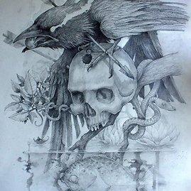 Karinos Sėrikovos nuotr./Molėtiškis Šarūnas Vaičius Ostendėje daro tatuiruotes danams