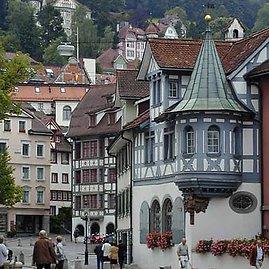 Sankt Galeno senamiesčio gatvelė