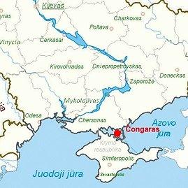 Čongaro kaimas Ukrainoje