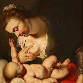 Žindanti Marija