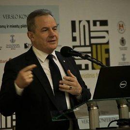Igno Versinsko nuotr./Aplinkos ministras Kęstutis Trečiokas