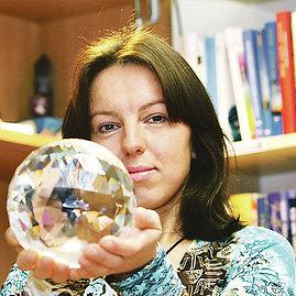 Astrologė Lana Kutkytė.