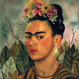 AOP nuotr./Fridos Kahlo autoportretas (1940 m.)