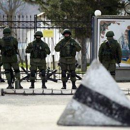 """""""Reuters""""/""""Scanpix"""" nuotr./Rusų kariai Kryme"""
