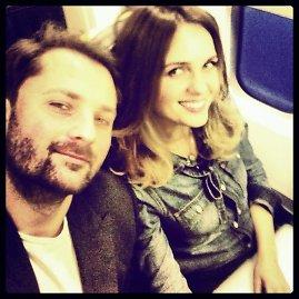 Asmeninio albumo nuotr./Asta Valentaitė ir Mantas Petruškevičius – pakeliui į Milaną