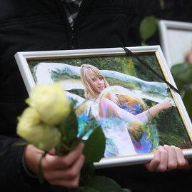 Irmanto Gelūno nuotr./Evelinos laidotuvės Panevėžyje