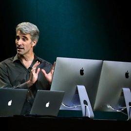 """AFP/""""Scanpix"""" nuotr./""""Apple"""" naujovių pristatymo akimirka"""