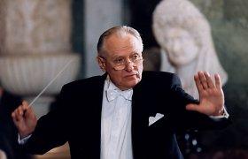 Mirė maestro Saulius Sondeckis