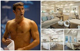 Karjerą baigęs plaukikas Michaelas Phelpsas apsigyveno naujuose namuose Arizonoje: apžiūrėkite
