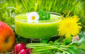 Žaliasis supermaistas – organizmui stiprinti ir valyti