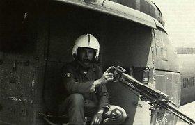 Vytis puošė ir Vietnamo kare dalyvavusio Amerikos lietuvio sraigtasparnį