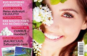 """Naujausiame žurnalo """"Ji"""" numeryje – """"Eurovizijos"""" užkulisiai ir sveikos gyvensenos patarimai"""