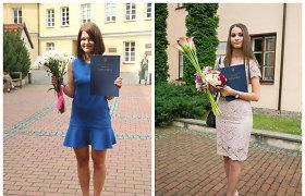 Monika Dirsytė ir Lina Anušauskienė – Dailės akademijos magistrės