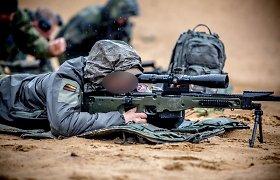 Šalia Vilniaus – Baltijos šalių specialiųjų pajėgų snaiperiai