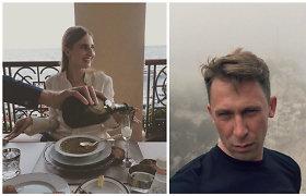 """Egidijus Dragūnas ir Eleonora Sebrova Monake stebėjo """"Formulės-1"""" lenktynes"""