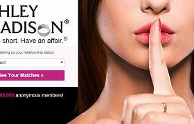 """""""Ashley Madison"""" skandalas: nutekinti milijonų žmonių, tarp jų – įtakingų veikėjų, duomenys"""