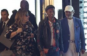 Kanuose sumaištį sukėlė atlikėjo Pharrello Williamso pasirodymas