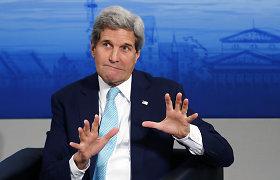 JAV valstybės sekretorius Johnas Kerry: neturime slaptos informacijos apie B.Nemcovo nužudymą