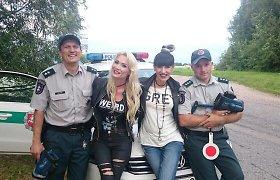 """Policininkams įkliuvusi Natalija Bunkė: """"Išrašę baudą, jie paprašė kartu nusifotografuoti"""""""