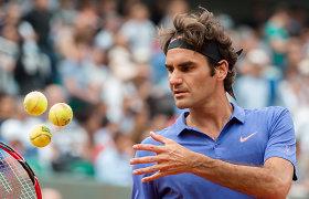 """Tenise vis daugiau vietos senukams – """"Roland Garros"""" užfiksavo rekordą"""
