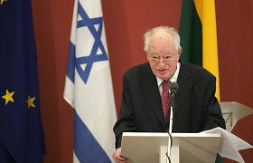 Former leader of Lithuanian Jewish Community receives birthday congratulations from prime minister