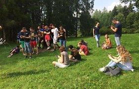 Pokemonai į Alytuje vykusį pikniką pritraukė būrį žmonių