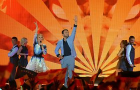 """18-ą vietą """"Eurovizijoje"""" pelnę Vaidas ir Monika: """"Kiek nusipelnėme, tiek ir gavome"""""""