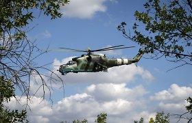 Ukrainos kariškiai įtariami nelegaliai už 200 tūkst. eurų pardavę du karinius sraigtasparnius
