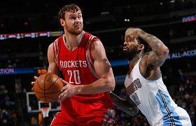 Neliko nepastebėtas: Donatas Motiejūnas įvertintas kaip vienas geriausių savo pozicijos žaidėjų NBA