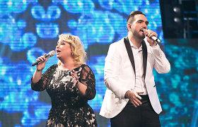 """Ištvanas Kvikas """"Eurovizijos"""" atrankoje dalyvauja su žvaigžde iš praeities"""