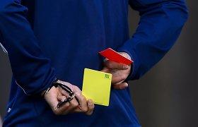 Futbolo rungtynėse Turkijoje – 15 raudonų kortelių
