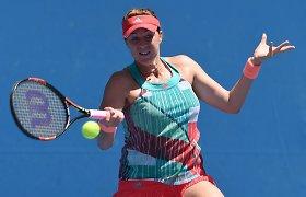 Anastasija Pavliučenkova sėkmingai startavo turnyre Sankt Peterburge